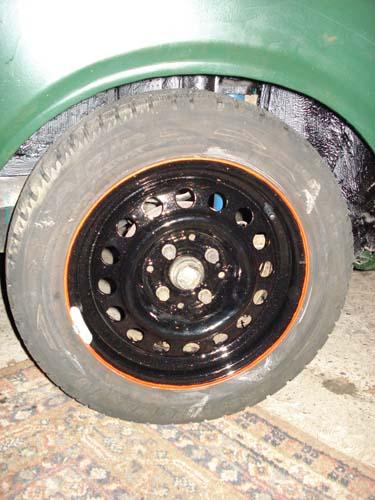 Stahlfelgen 6j14 VW Passat 32B