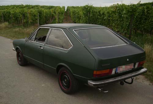 Heckansicht Passat Typ 32 GLS 1977