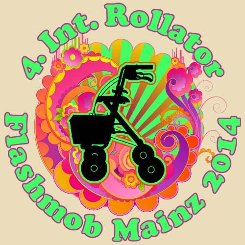 Rollator Flashmob 2014