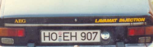 AEG Lavamat Injection