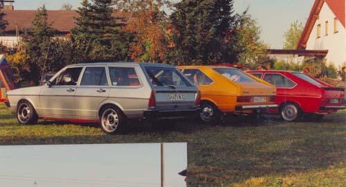 VW Passat Urmodelle