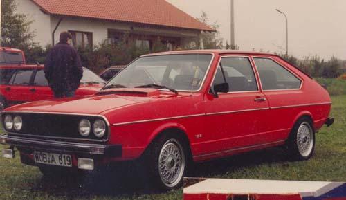 VW Passat Chrommodell GLI