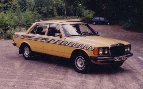 Taxibenz W123