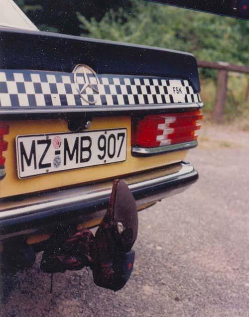 Zigeunerhaken W123