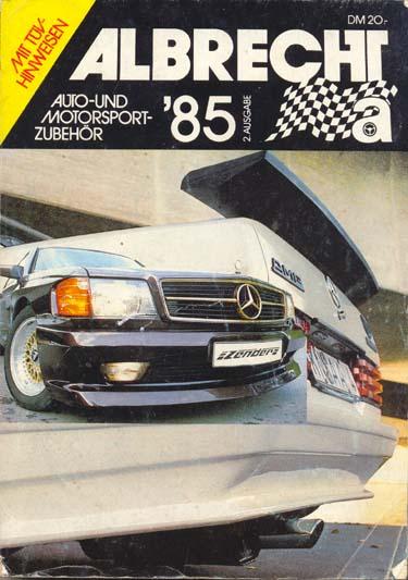 Albrecht Tuning Katalog 1985