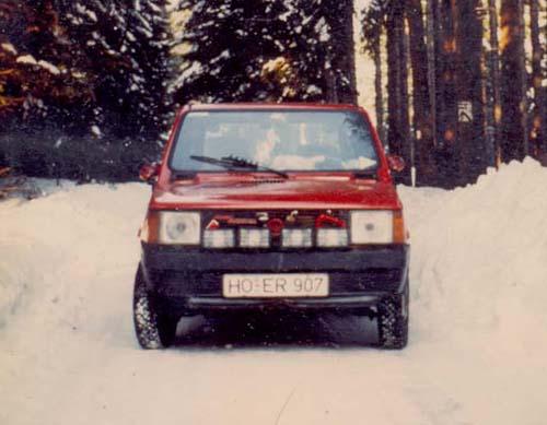 Christbaum Fiat Panda 45
