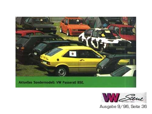 Passaratti BSE in der VW Scene