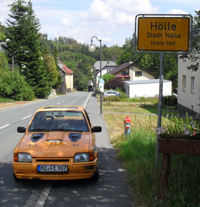 Ford Escort out of Hell