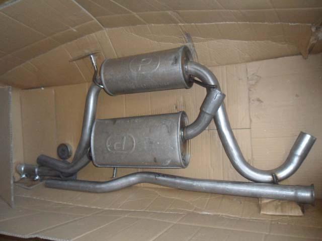 Polmostrow Auspuff Ford Escort MK4 GAF 1.8D
