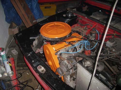 VW Motor 1,6l, 75PS Passat
