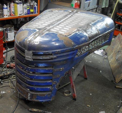 Hot Rod Motorhaube