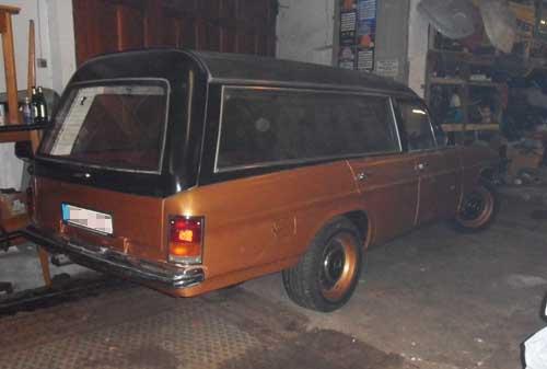 Mercedes Benz Leichenwagen