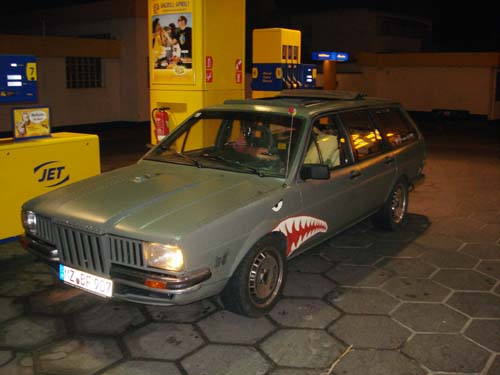 Renault Twingo Faltdach im Passat 32B
