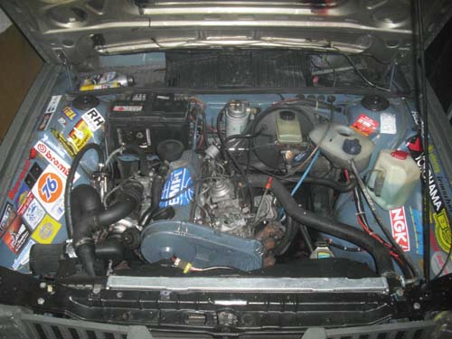 Motor Turbodiesel Golf 2 mit LLK im Passat 32B