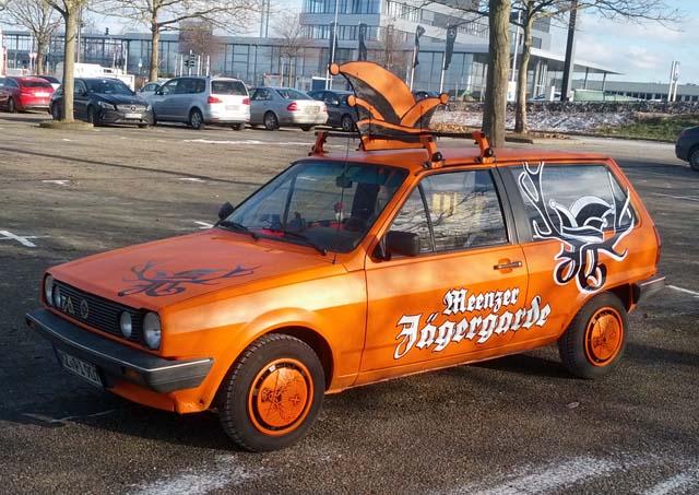 Jägergarde Mannschaftswagen