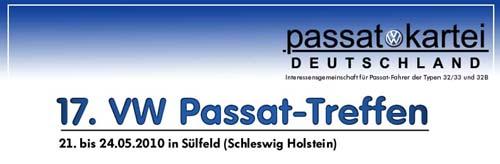 17. internationale Passattreffen in Sülfeld 2010