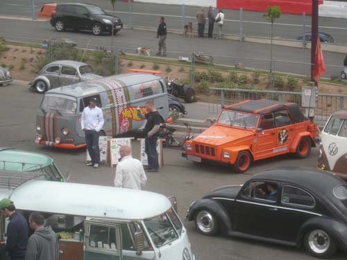 KLE und Monsterbackes Fusseltuning Autos