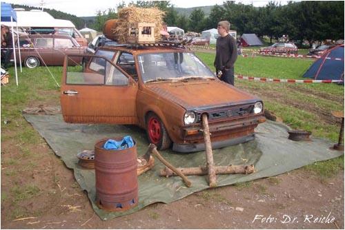 VW Polo 2 Ratte