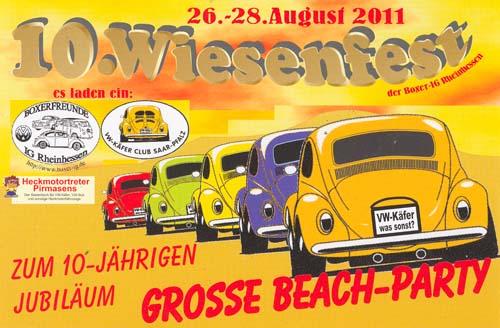 Wiesenfest Alzey 2011