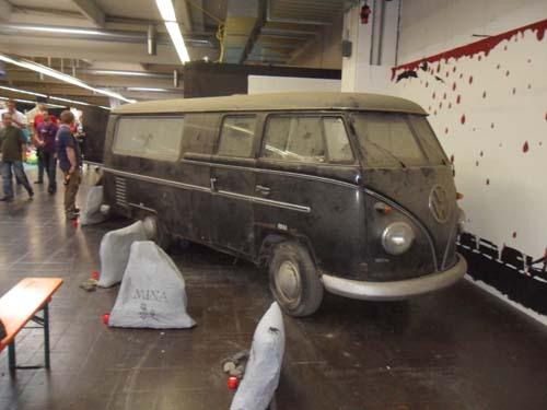 VW T1 DoKa Leichenwagen