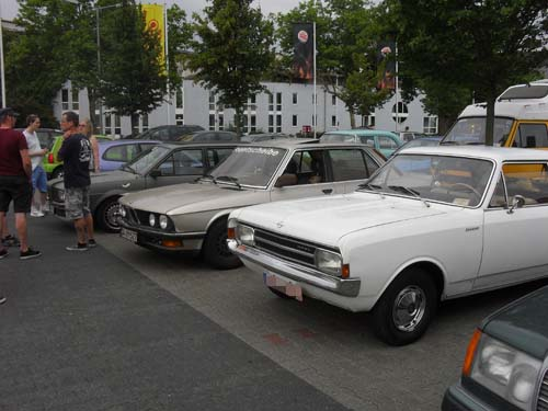 Altautotreff Darmstadt Juli 2014
