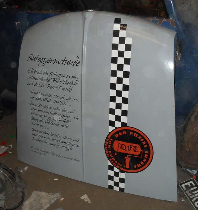 Kofferraumhaube VW Typ 3