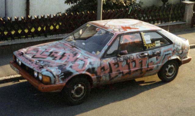 VW Scirocco 1 Ratte