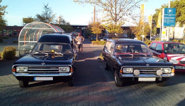 Opel Rekord C Leichenwagen
